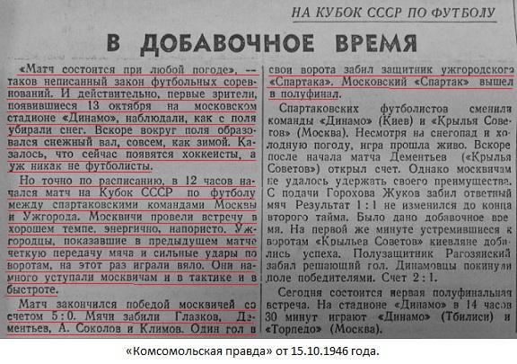 Спартак (Москва) - Спартак (Ужгород) 5:0