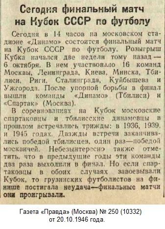 Спартак (Москва) - Динамо (Тбилиси) 3:2 д.в.