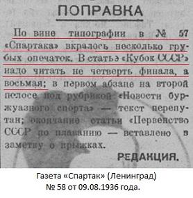 Локомотив (Харьков) - Динамо (Ленинград) -:- 2:2 д.в. аннул.