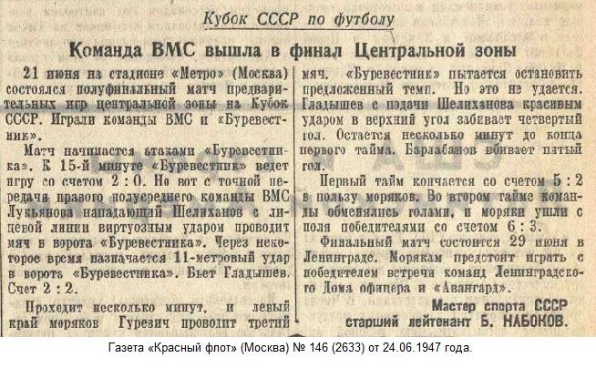 ВМС (Москва) - Буревестник (Москва) 6:3