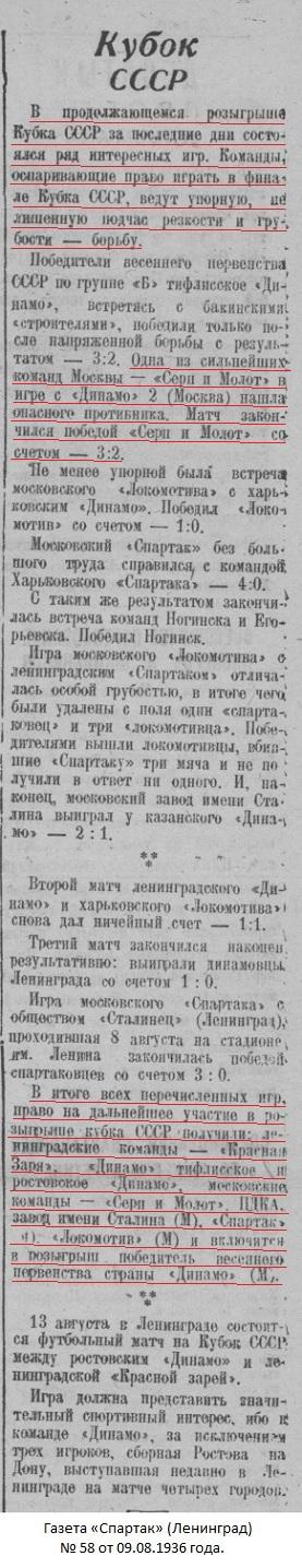 Серп и Молот (Москва) - Динамо-2 (Москва) 3:2