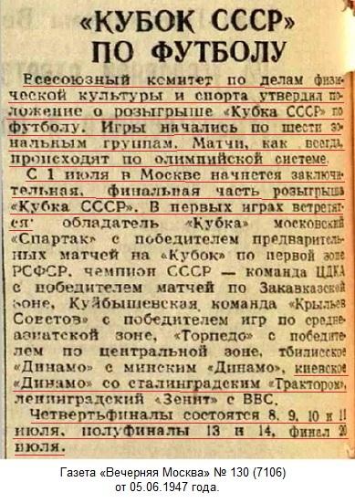 Динамо (Киев) - Трактор (Сталинград) 2:1
