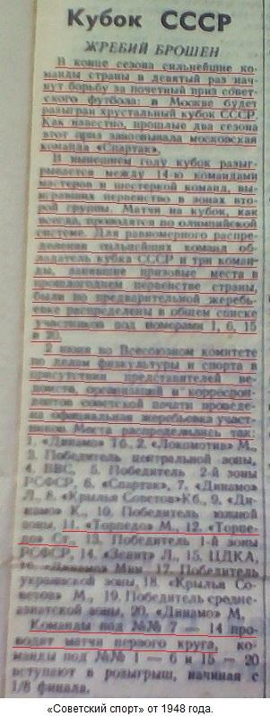 Торпедо (Москва) - Торпедо (Сталинград) 5:1