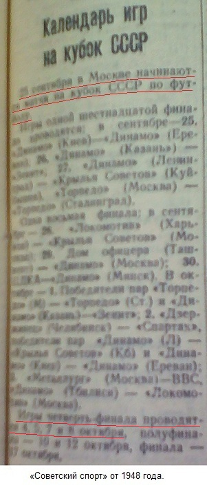 Локомотив (Харьков) - Динамо (Москва) 1:7