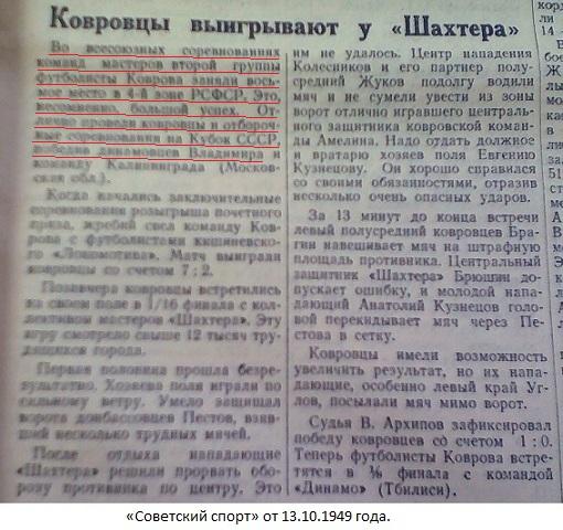 Динамо (Владимир) - Зенит (Ковров) 0:2