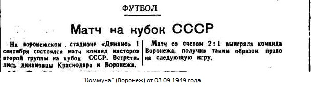 Динамо (Воронеж) - Динамо (Краснодар) 2:1