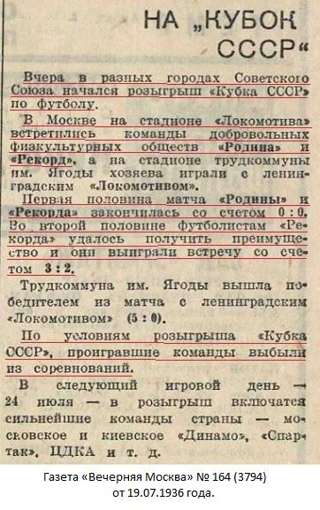 Рекорд (Москва) - Родина - завод Красный пролетарий (Москва) 3:2