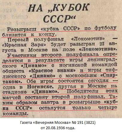 Спартак (Москва) - Динамо (Тбилиси) 3:6 д.в.
