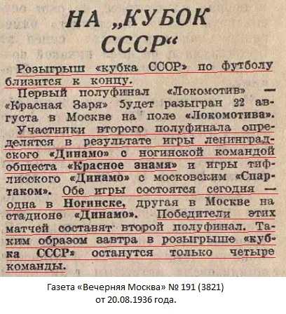 Красное Знамя (Глухово) - Динамо (Ленинград) 1:0