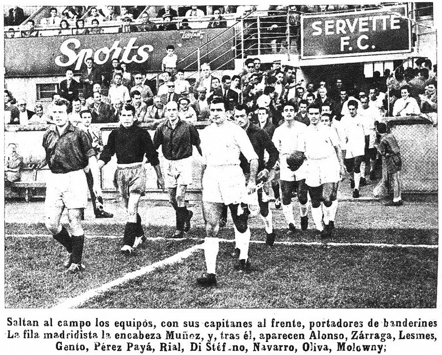 Серветт (Швейцария) - Реал Мадрид (Испания) 0:2