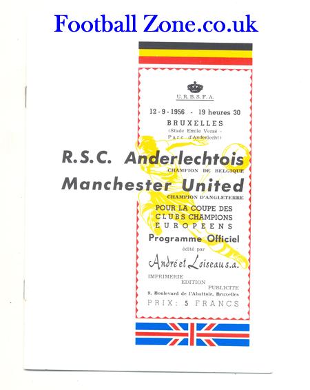 Андерлехт (Бельгия) - Манчестер Юнайтед (Англия) 0:2
