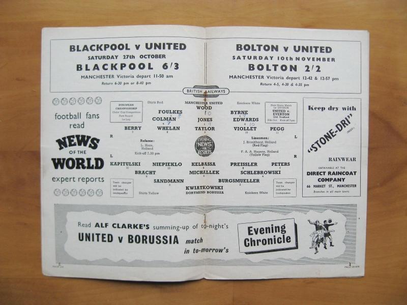 Манчестер Юнайтед (Англия) - Боруссия Д (Германия) 3:2. Нажмите, чтобы посмотреть истинный размер рисунка