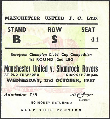 Манчестер Юнайтед (Англия) - Шэмрок Роверс (Ирландия) 3:2