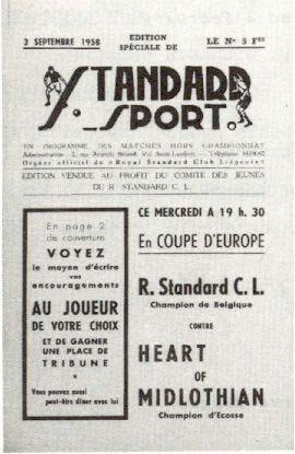 Стандард (Бельгия) - Хартс (Шотландия) 5:1