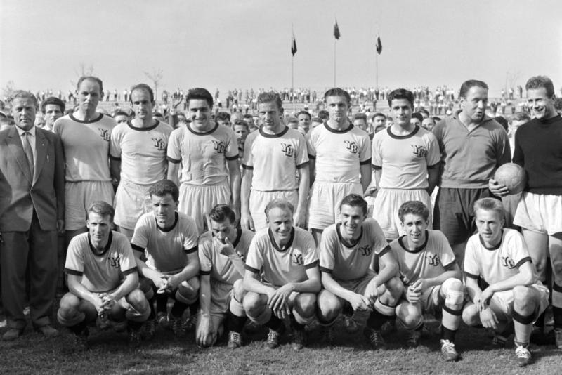 Эрцгебирге (ГДР) - Янг Бойз (Швейцария) 0:0. Нажмите, чтобы посмотреть истинный размер рисунка
