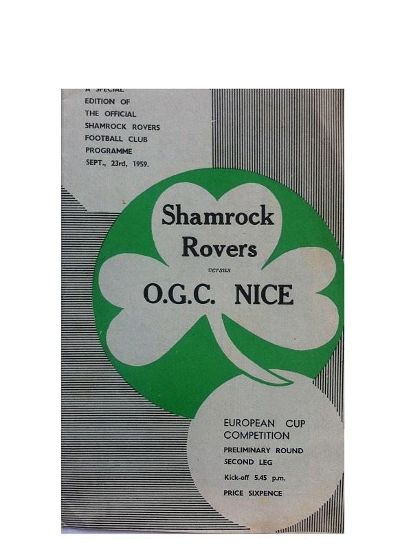 Шэмрок Роверс (Ирландия) - Ницца (Франция) 1:1