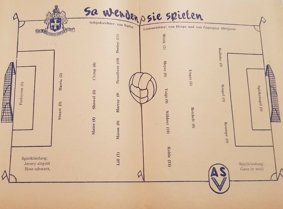 Форвертс Франкфурт-на-Одере (ГДР) - Вулверхэмптон Уондерерс (Англия) 2:1