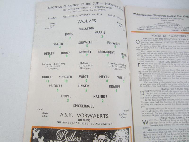 Вулверхэмптон Уондерерс (Англия) - Форвертс Франкфурт-на-Одере (ГДР) 2:0. Нажмите, чтобы посмотреть истинный размер рисунка
