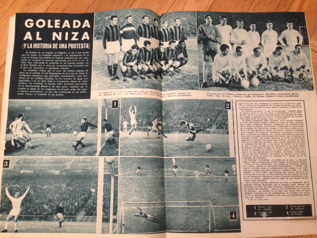 Реал Мадрид (Испания) - Ницца (Франция) 4:0. Нажмите, чтобы посмотреть истинный размер рисунка