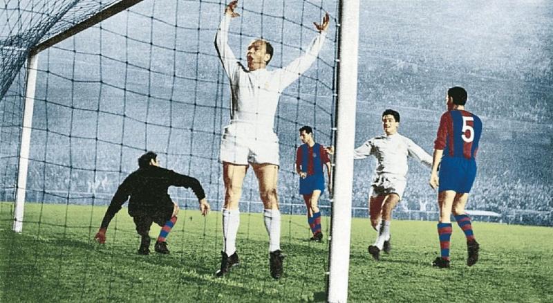 Реал Мадрид (Испания) - Барселона (Испания) 3:1. Нажмите, чтобы посмотреть истинный размер рисунка