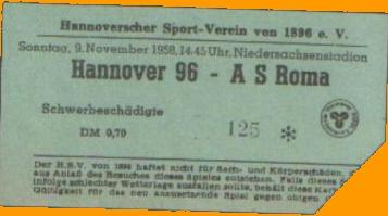 Ганновер 96 (Германия) - Рома (Италия) 1:3