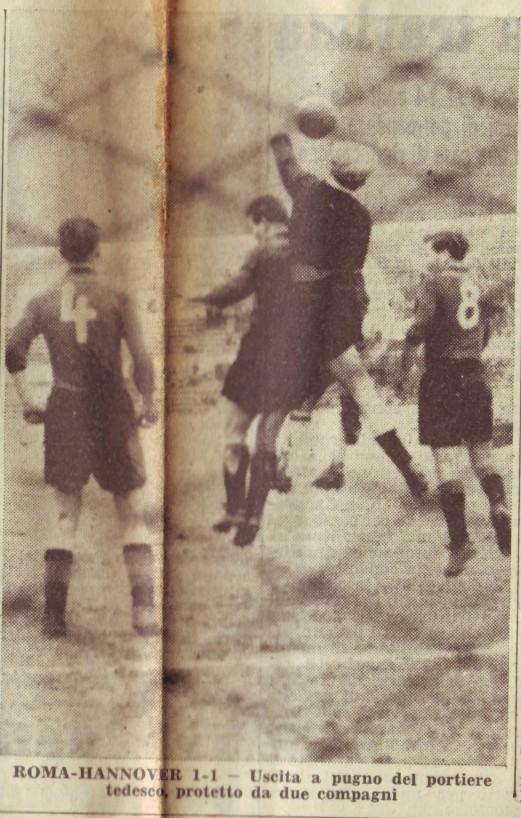 Рома (Италия) - Ганновер 96 (Германия) 1:1