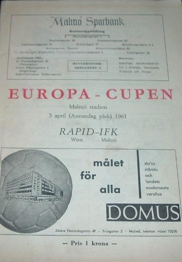 Мальмё (Швеция) - Рапид (Австрия) 0:2