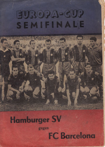 Гамбург (Германия) - Барселона (Испания) 2:1