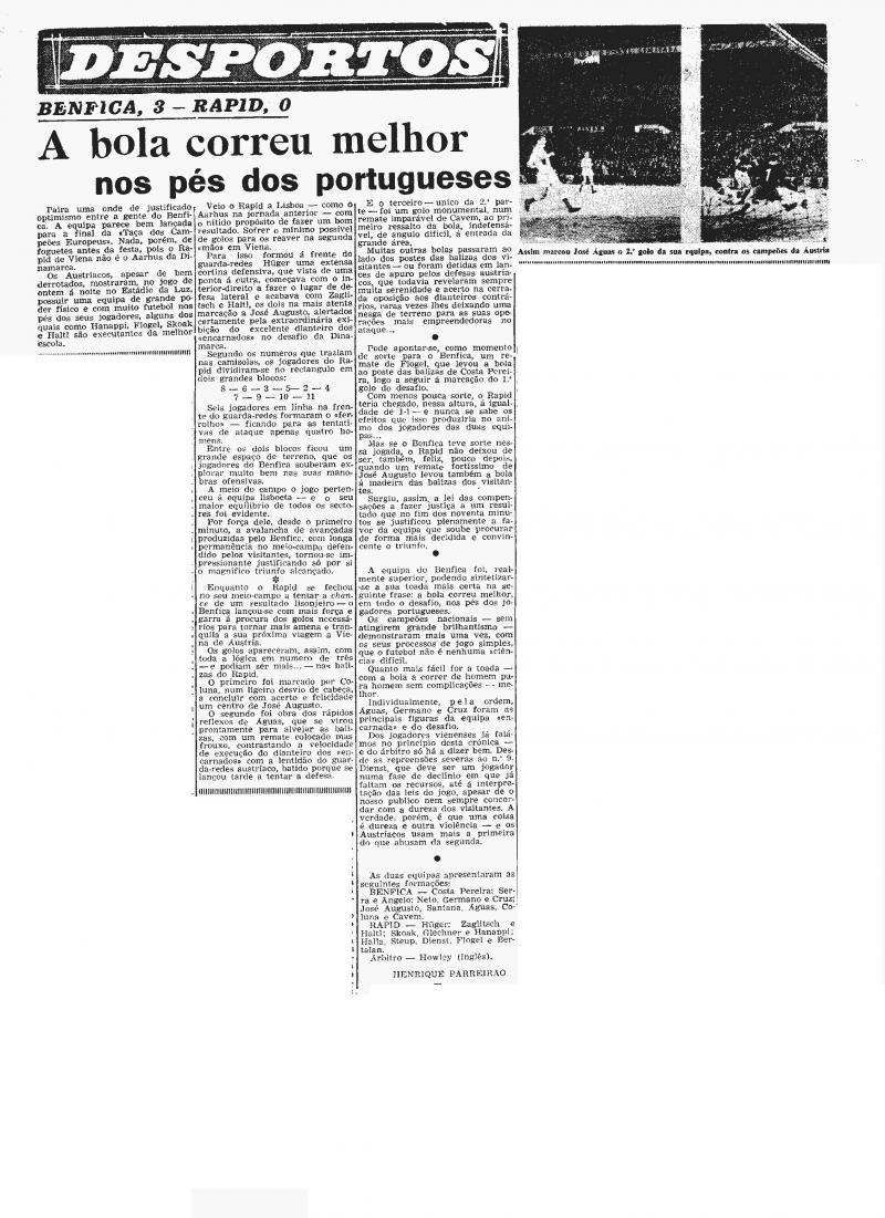 Бенфика (Португалия) - Рапид (Австрия) 3:0. Нажмите, чтобы посмотреть истинный размер рисунка