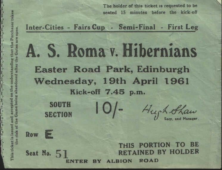 Хиберниан (Шотландия) - Рома (Италия) 2:2