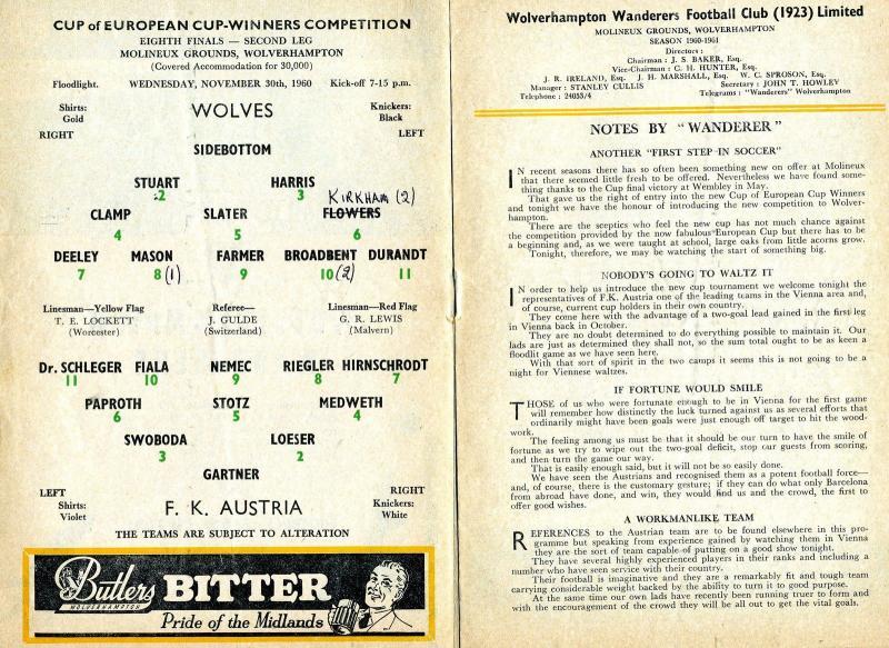 Вулверхэмптон Уондерерс (Англия) - Аустрия Вена (Австрия) 5:0. Нажмите, чтобы посмотреть истинный размер рисунка