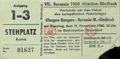 Боруссия М (Германия) - Глазго Рейнджерс (Шотландия) 0:3
