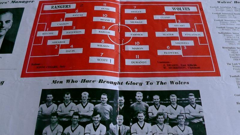 Глазго Рейнджерс (Шотландия) - Вулверхэмптон Уондерерс (Англия) 2:0. Нажмите, чтобы посмотреть истинный размер рисунка