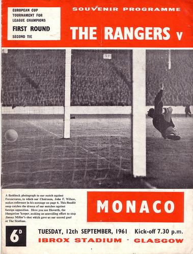 Глазго Рейнджерс (Шотландия) - Монако (Франция) 3:2