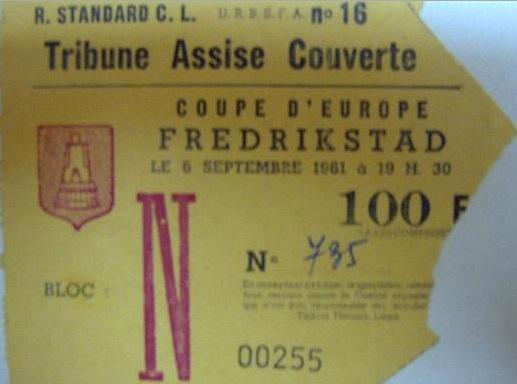 Стандард (Бельгия) - Фредрикстад (Норвегия) 2:1