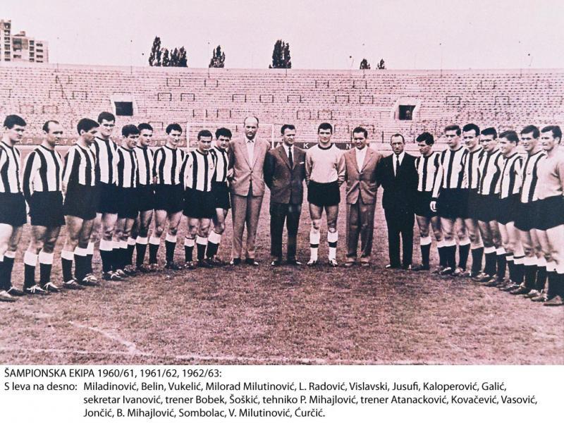 Партизан (Югославия) - Спортинг Лиссабон (Португалия) 2:0. Нажмите, чтобы посмотреть истинный размер рисунка