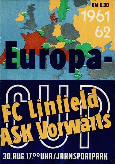 Форвертс Франкфурт-на-Одере (ГДР) - Линфилд (Северная Ирландия) 3:0