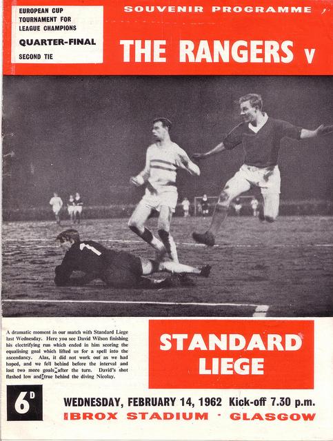 Глазго Рейнджерс (Шотландия) - Стандард (Бельгия) 2:0