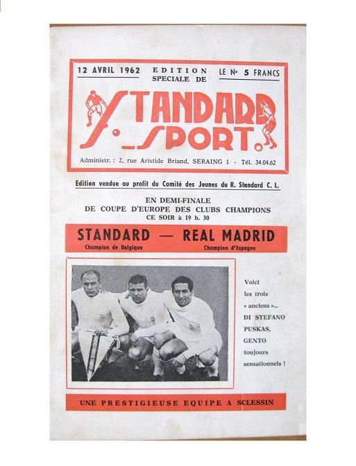 Стандард (Бельгия) - Реал Мадрид (Испания) 0:2