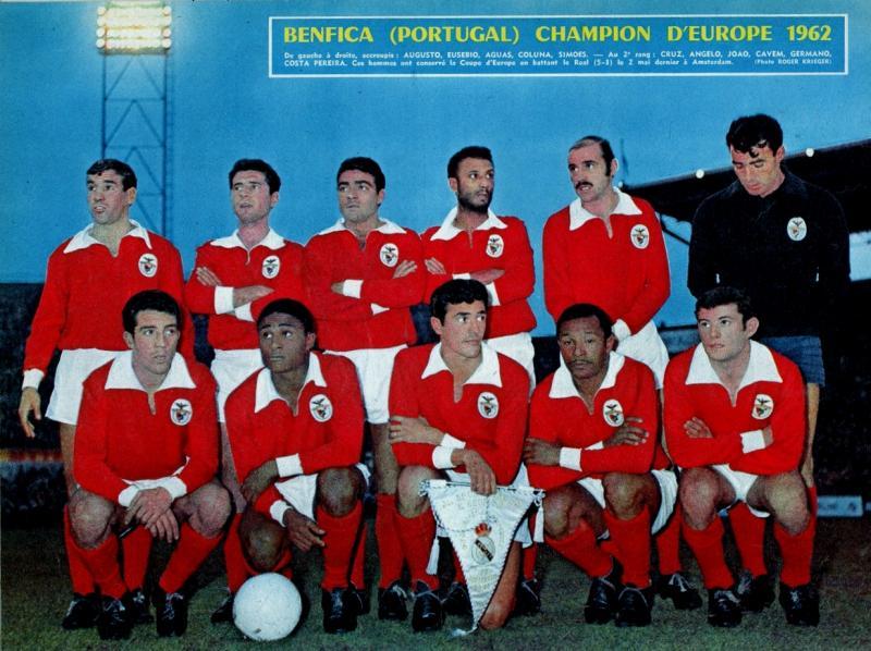Бенфика (Португалия) - Реал Мадрид (Испания) 5:3. Нажмите, чтобы посмотреть истинный размер рисунка
