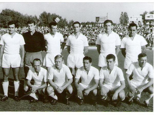 Нови Сад сб. КЯ (Югославия) - Милан (Италия) 2:0