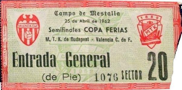 Валенсия (Испания) - МТК (Венгрия) 3:0