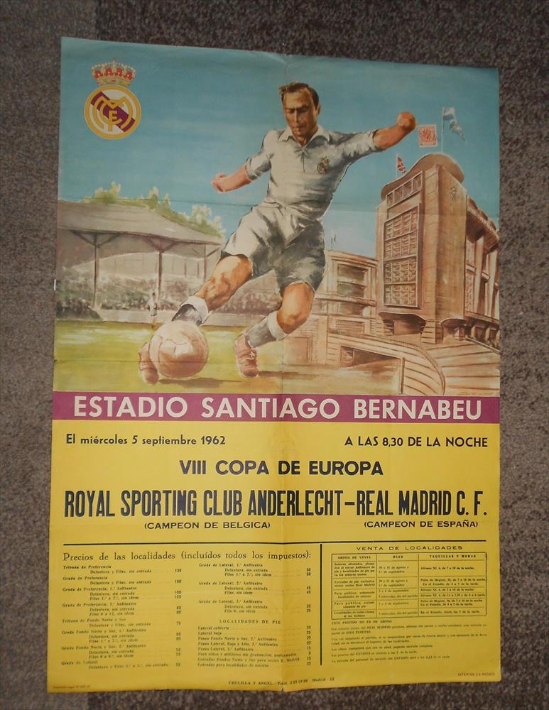 Реал Мадрид (Испания) - Андерлехт (Бельгия) 3:3