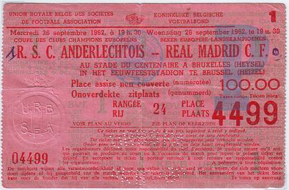Андерлехт (Бельгия) - Реал Мадрид (Испания) 1:0