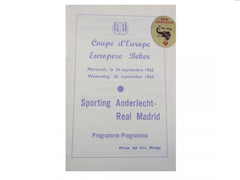 Андерлехт (Бельгия) - Реал Мадрид (Испания) 1:0. Нажмите, чтобы посмотреть истинный размер рисунка