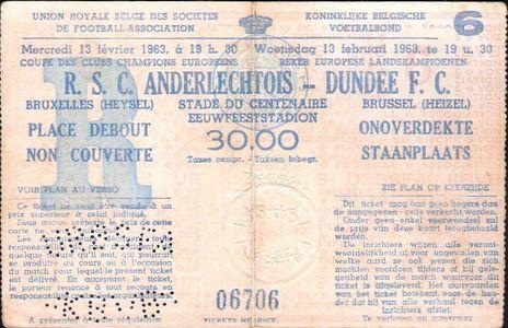 Андерлехт (Бельгия) - Данди Юнайтед (Шотландия) 1:4