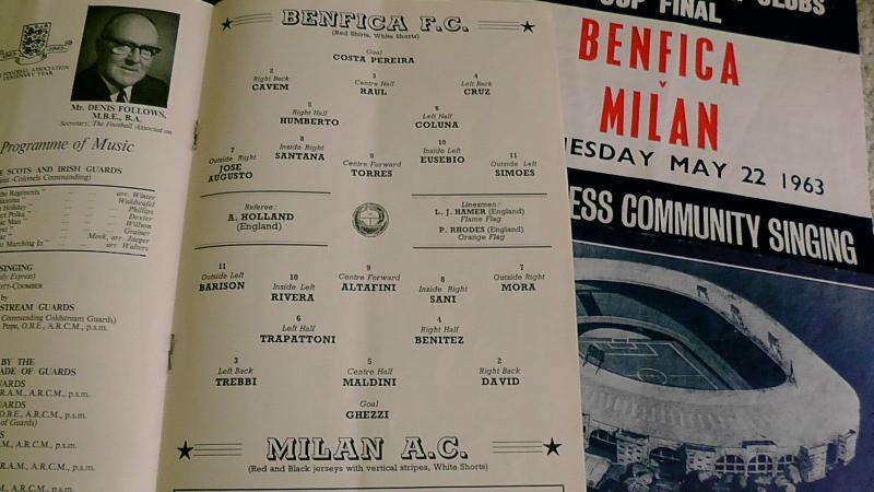 Милан (Италия) - Бенфика (Португалия) 2:1. Нажмите, чтобы посмотреть истинный размер рисунка