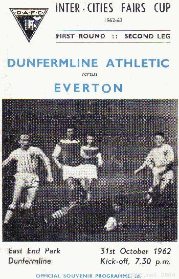 Данфермлин Атлетик (Шотландия) - Эвертон (Англия) 2:0