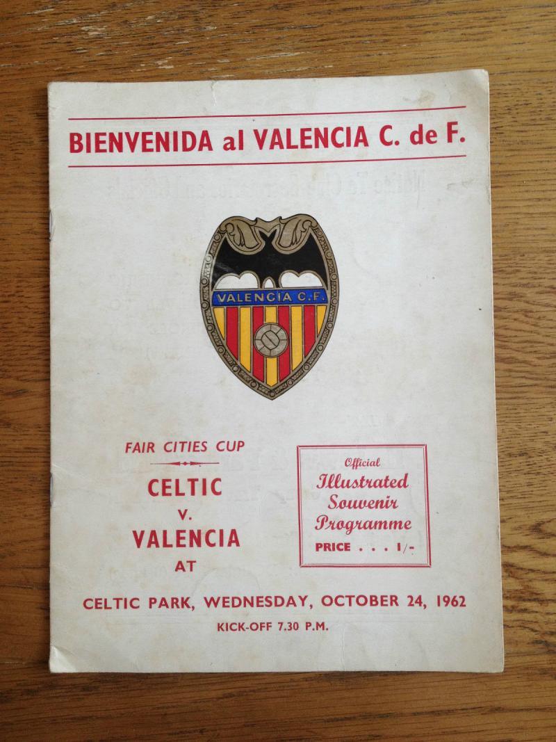 Селтик (Шотландия) - Валенсия (Испания) 2:2. Нажмите, чтобы посмотреть истинный размер рисунка