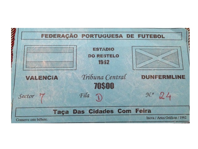 Валенсия (Испания) - Данфермлин Атлетик (Шотландия) 1:0